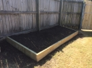 The Home Handyman garden bed fabrication