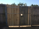 The Home Handyman timber gate repair