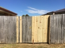 The Home Handyman timber fence repair