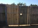 The Home Handyman timber gate repair