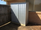 The Home Handyman Garden Shed erection